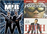 Will Smith 3-Movie Collection: Men in Black, Hancock & Hitch Bundle