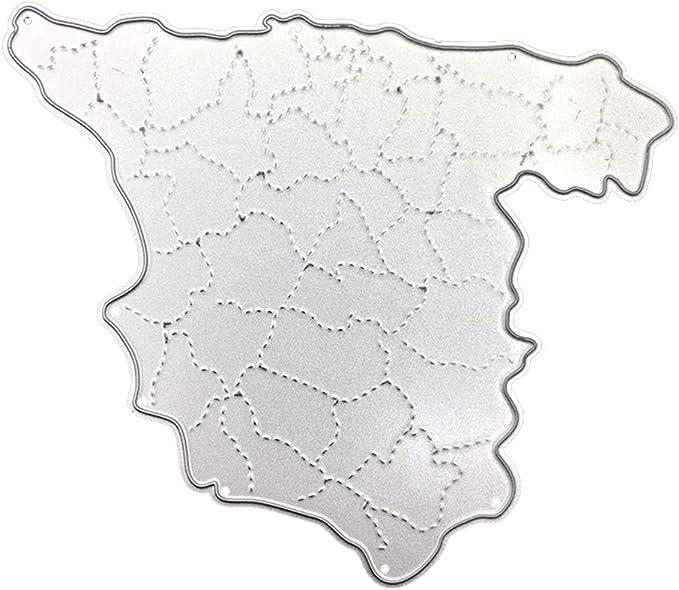 KimcHisxXv Kimilike - Plantilla para troqueladora, diseño de España: Amazon.es: Hogar