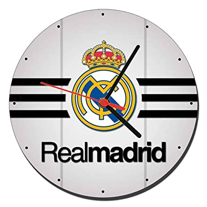 Real Madrid C.F. C Reloj de Pared Wall Clock 20cm