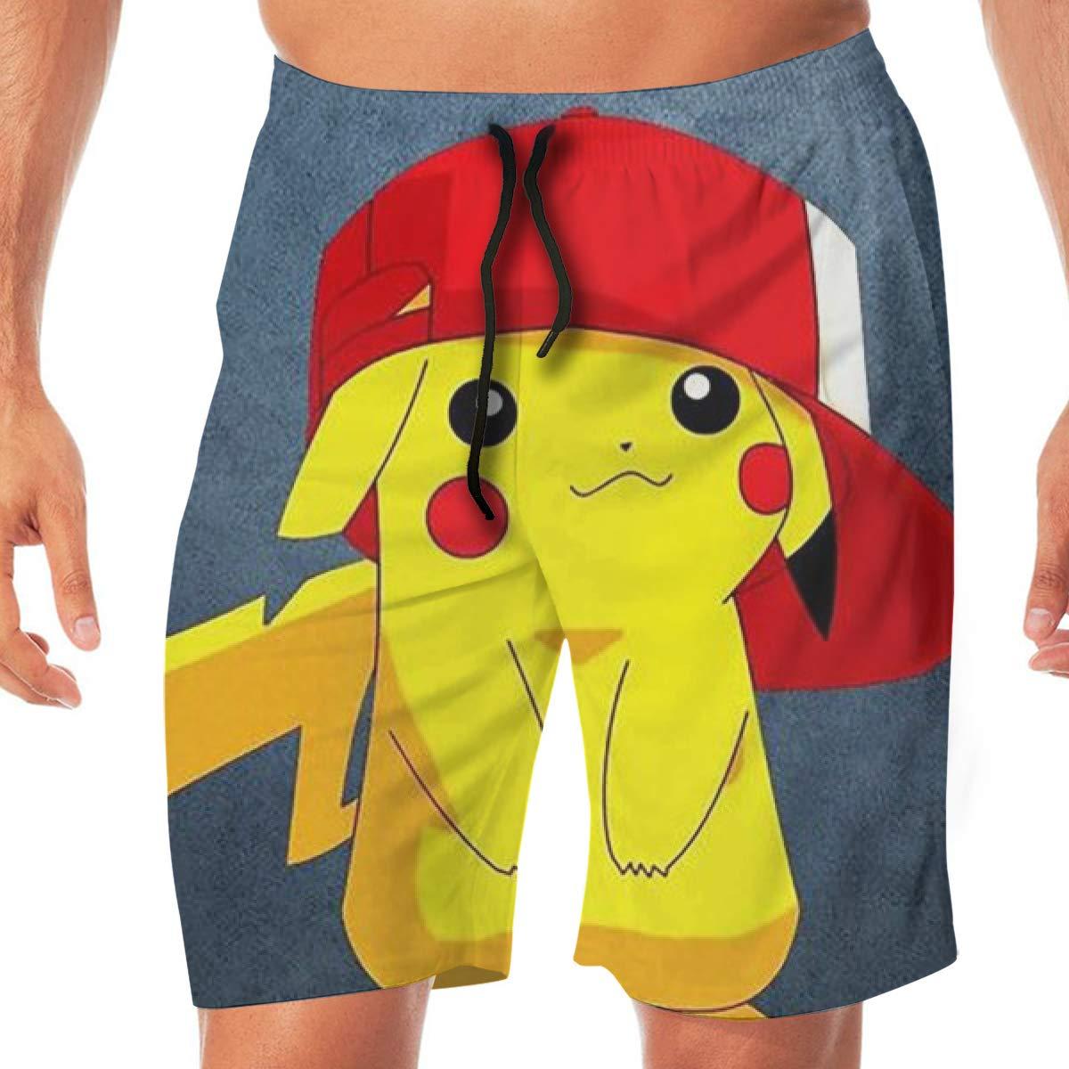 DailiH Swim Trunks Pokémon Lindo - Pikachu Pantalón de Playa ...