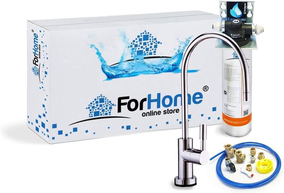 Purificador de Agua ForHome Easy Pure - Agua Depurata con Microfiltración Everpure 4C: Amazon.es: Bricolaje y herramientas