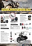BULLETHD BIKER PRO PLUS (Spring 2016 Aluminium Lens Housing) WiFi enabled Full-HD 1080P Water Resistant Action Camera Motorcycle DashCam HDR Night Performance + Transcend 32GB 400X microSD card!