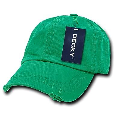 Decky Vintage Polo - Gorra para Hombre, Color Verde, Talla n/a ...