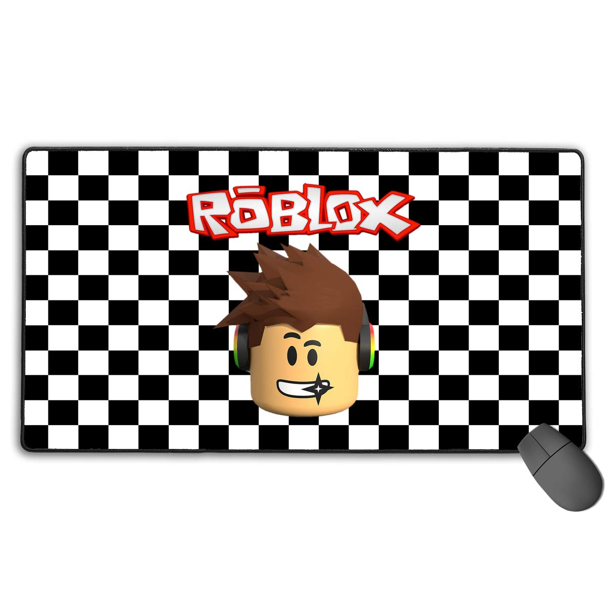 Amazon com : Roblox Character Head Large Gaming Mouse Pad