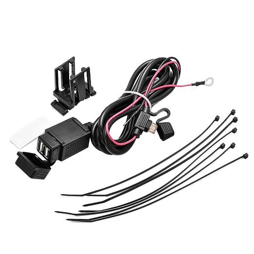 39 opinioni per VORCOOL Caricatore Mobile Impermeabile Moto Doppia Porta USB Power Socket