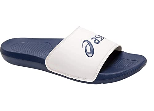 cd376c2d8f24 ASICS AS003 White Indigo Blue Slippers (1173A006-100)  Buy Online at Low  Prices in India - Amazon.in