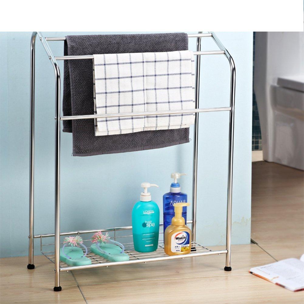 Amazon.com: lwzyTowel Bar Towel bar/bathroom racks/shelving/drying ...