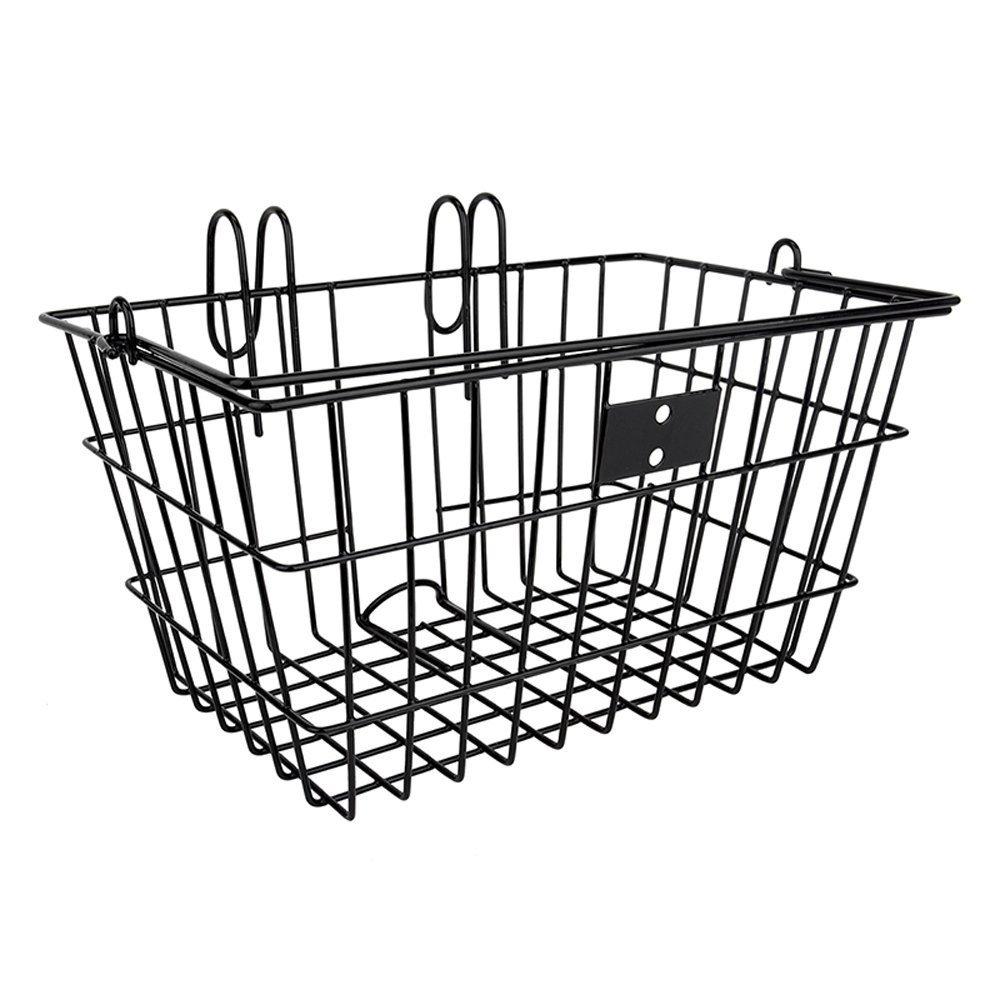 Amazon.com : Sunlite Wire Lift-Off Front Basket, Black : Bike ...
