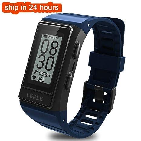 FANZIFAN Reloj Inteligente Smart Watch Hombres GPS Pulsera ...