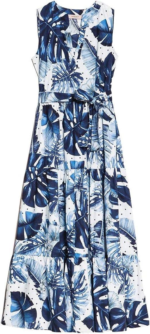 per conto di Dedurre appassionato  Abito Donna Twin Set 201TP2552 ST.Tropical Pois Blu Estate 2020 P/E 2020  (44 - Pois Blu): Amazon.it: Abbigliamento
