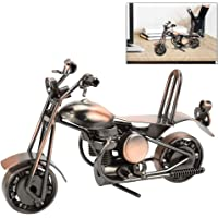 AFASOES Modelo de Motocicleta de Hierro, Vintage Retro