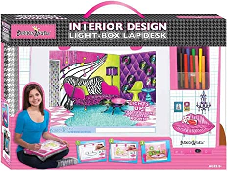 Fashion Angels Interior Design Light Box Lap Desk Set Craft Kits Amazon Canada