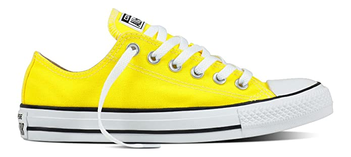 Converse Chucks All Star Low Top Sneaker Herren Gelb (Fresh Yellow)