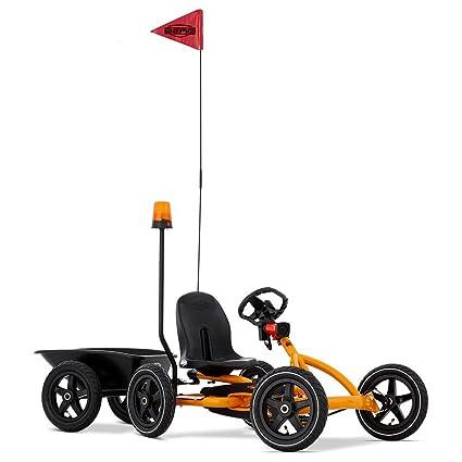 Amazon.com: Berg Pedal Cars para niños Buddy Naranja ...