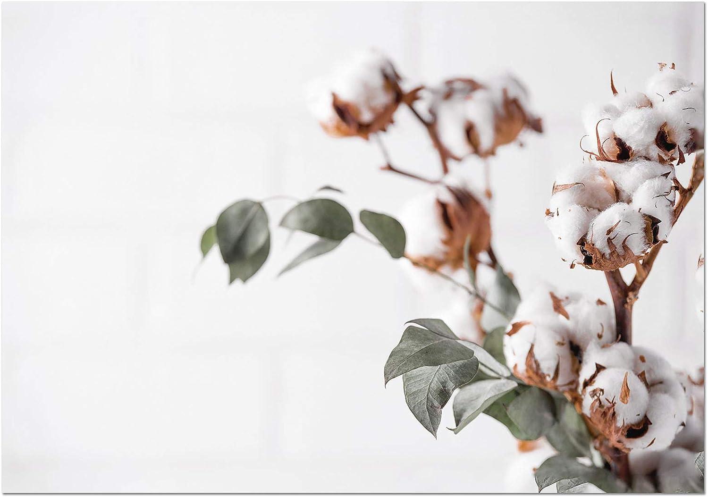 Panorama Póster Algodón 30x21cm - Impreso en Papel 250gr - Láminas Cuadros Hojas Verdes - Láminas para Enmarcar - Cuadros Decoración Salón - Cuadros Botánica - Cuadros de Plantas: Amazon.es: Hogar