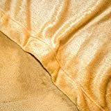 Cozy Fleece Microplush Sheet Set, Full, Wheat