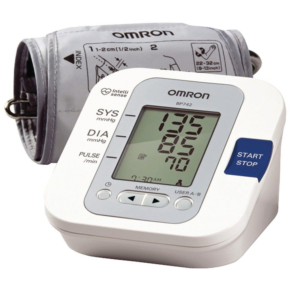 Omron BP742N 5 Series Upper Arm Cuff Blood Pressure Monitor 60 Memory Storage Good Quality From United Kingdom Fast Shipping Ship Worldwide