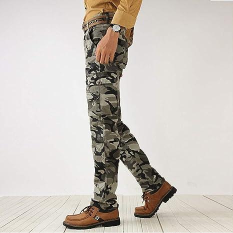 ... Pantalones Suelto Casuales Camuflaje Jogger Hip Hop Estilo Urbano Chándal de Hombres con Cinturón Elástico Regular-Fit: Amazon.es: Ropa y accesorios