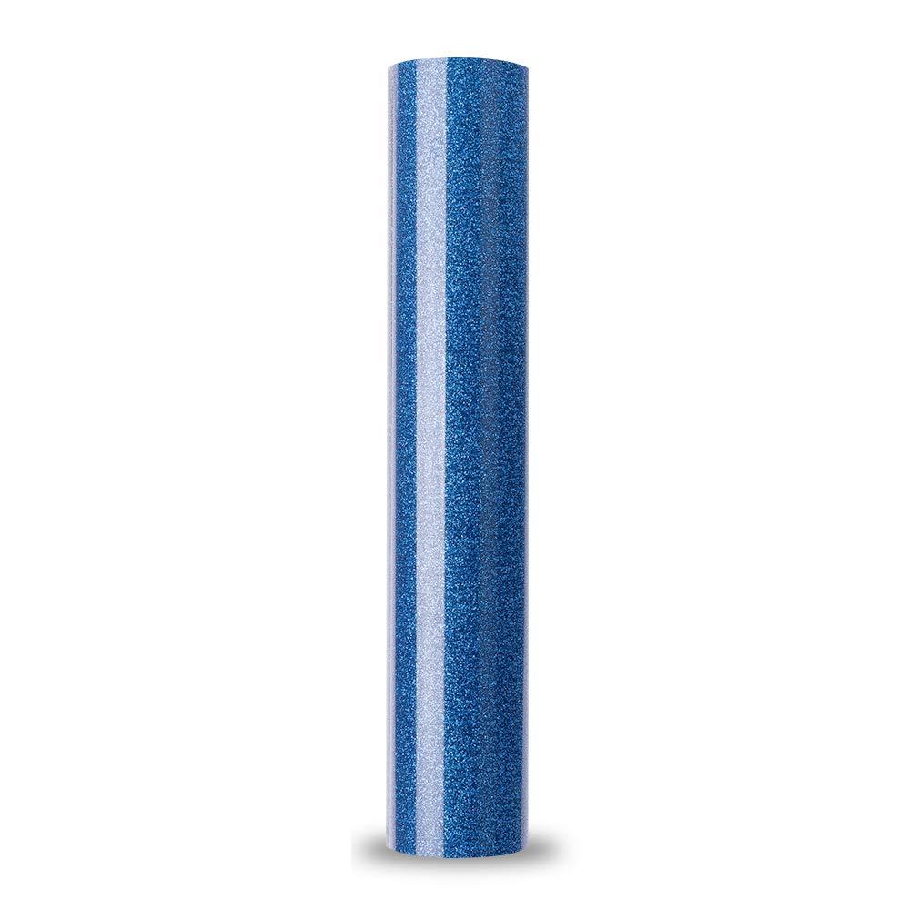 Glitter bluee Heat Transfer Vinyl Glitter colorful White DIY HTV HTV