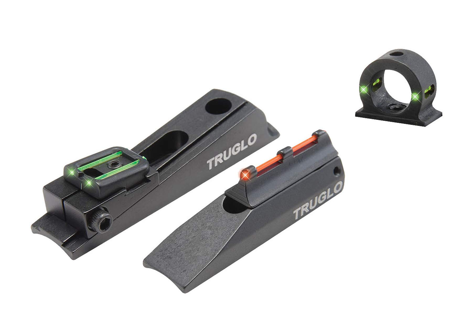 TRUGLO Muzzle-Brite Xtreme with Ghost Universal Sight, Red/Green