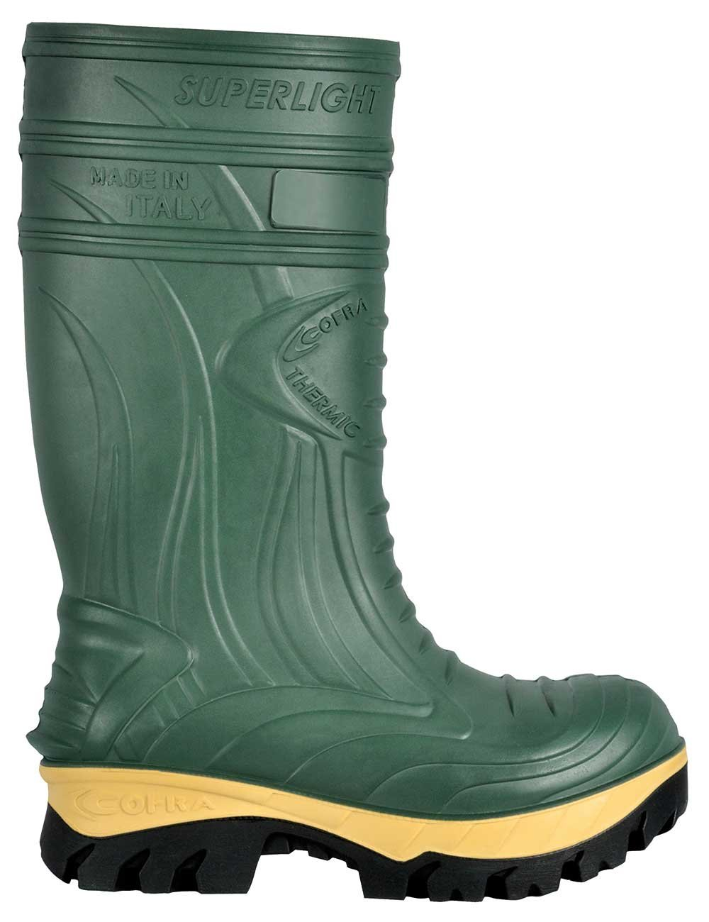 Cofra 00040-CU8.W11 Thermic Metguard EH PR Safety Boots, 11, Dark Green