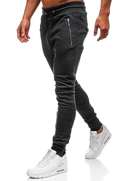 BOLF Hombre Pantalón Baggy con Impresión Pantalón Deportivo Estilo Urbano  6F6  Amazon.es  Ropa y accesorios 246c4a17e481