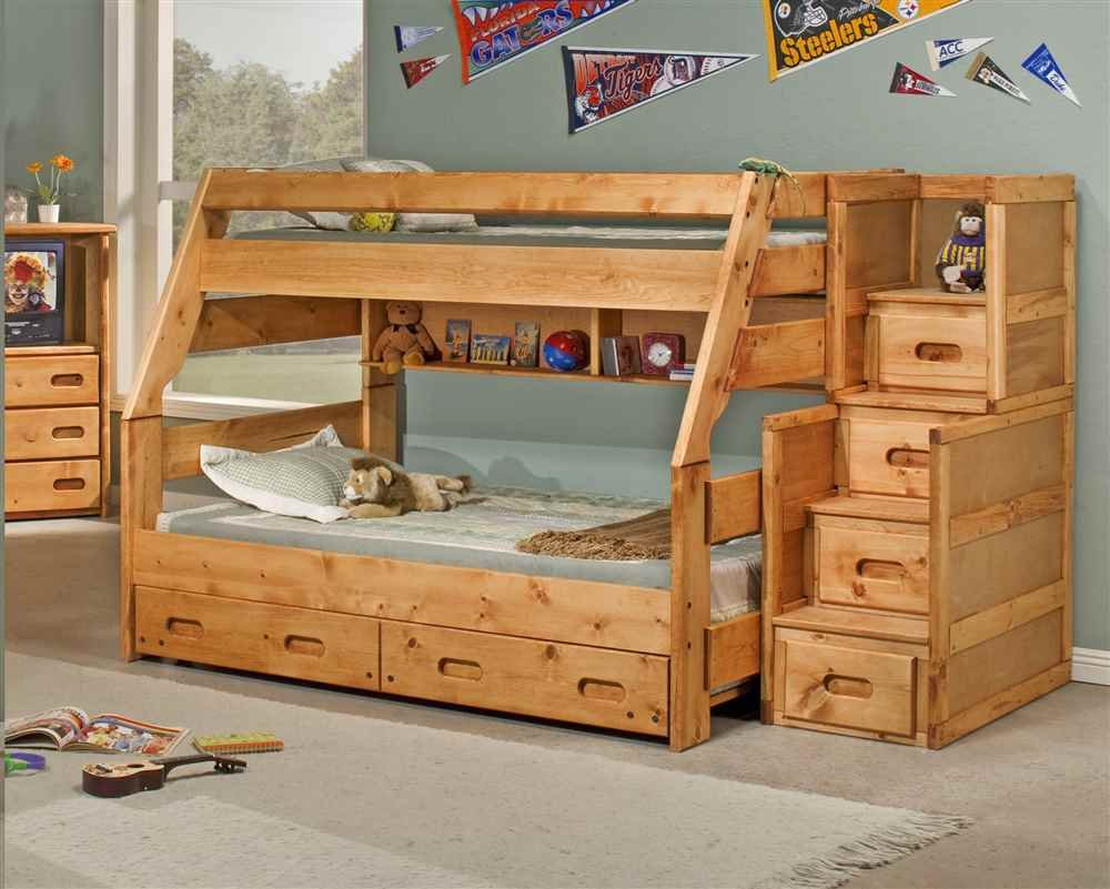 Amazon Twin Over Full Bunk Bed With Trundle Kitchen Dining