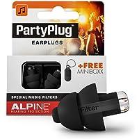 Alpine MusicSafe PartyPlug Tapones para los oídos, PartyPlug, Negro