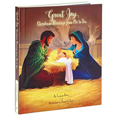 HMK Hallmark Gifts Book - Great Joy: A Book of Christmas Blessings Recordable Storybook: Toys & Games