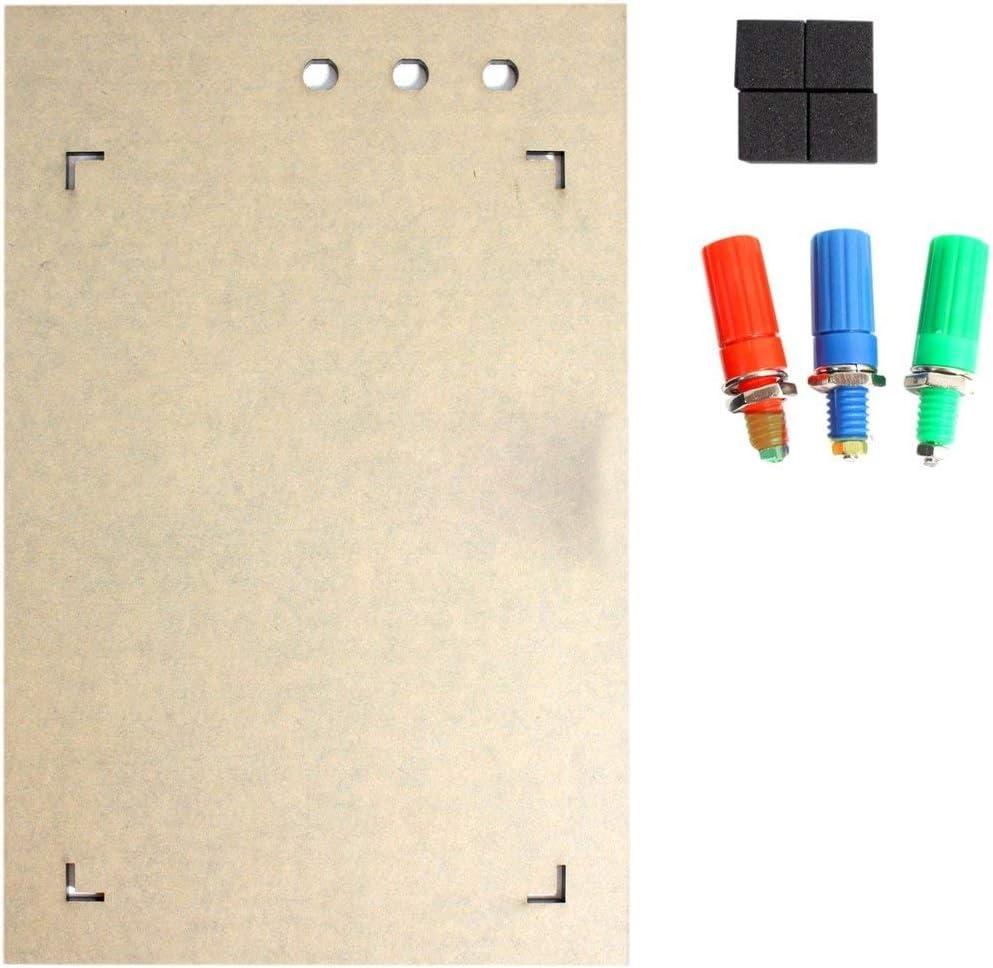 Multicolor Silverdewi Mini prototipo de placa sin soldadura de color Protoboard PCB Placa de prueba de circuito universal Herramientas de bricolaje Tablero de pan reutilizable