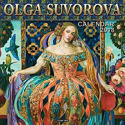 Calendario 2018 artista Olga Suvorova (ft) – Disfraz de Epoque ...
