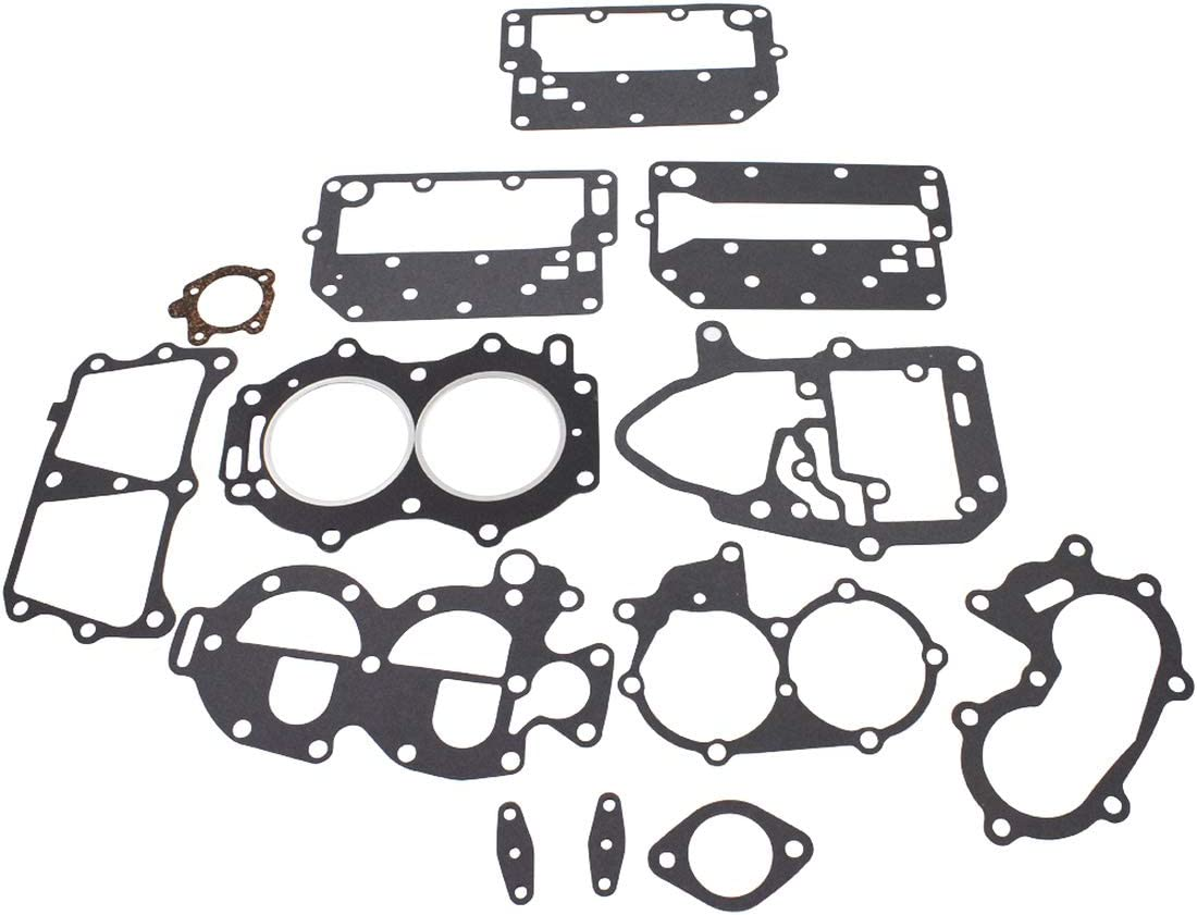WFLNHB Engine Kit Gasket Sets Fit for Powerhead Johnson/Evinrude 25 35HP 2 Cylinder 433941 18-4307