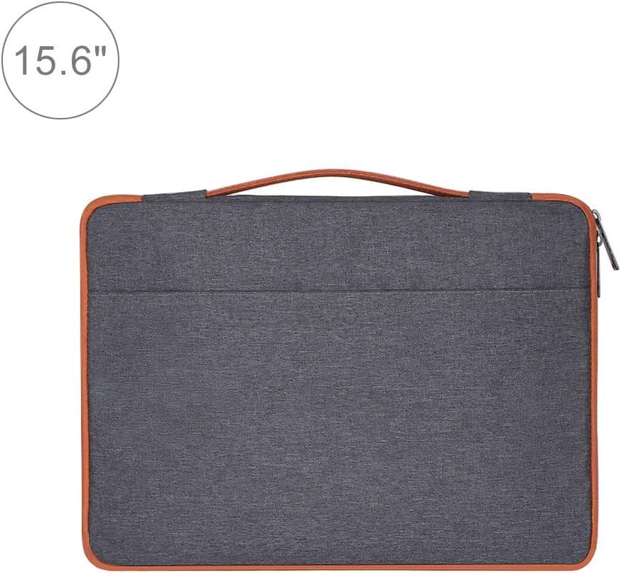 ASUS Color : Grey HP 15.6 inch Samsung Sony Black CHUWI DELL Lenovo Xiaomi Nylon Laptop Handbag Briefcase Notebook Cover Case Laptop Bag for MacBook Fashion Casual Polyester