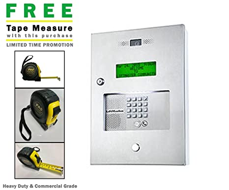 Amazon com : Elite EL2000 Telephone Entry System & Includes A Free