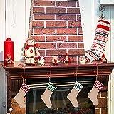 Sunshane 4 Pieces Christmas Stocking Holders Mantel