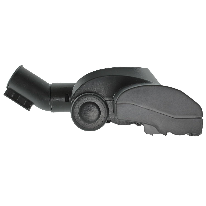 Spares2go Turbine Carpet Brush Airo Hoover Tool for Parkside Vacuum Cleaner Black