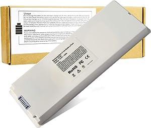 A1185 Laptop Battery for Apple MacBook 13 A1181 MA561 MA254 MA255 MA472 MA566 MA700 MA701 MB061 MB062 MA561FE/A MA561G/A MA561J/A - White