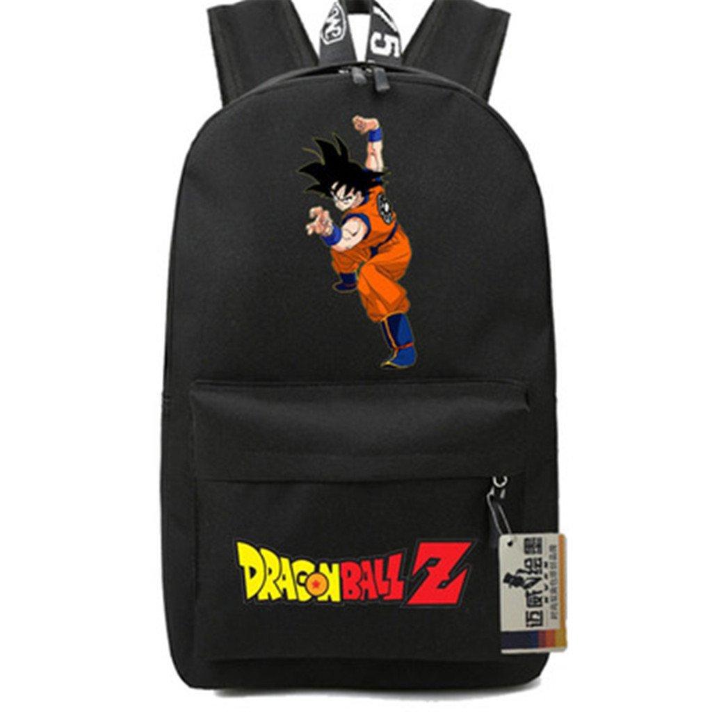 SiawaseyドラゴンボールZアニメGokuコスプレバックパックデイパックブックバッグラップトップバッグスクールバッグ   B07DGJ5J1R