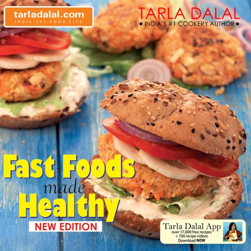 Fast foods made healthy tarla dalal 9788186469750 amazon books forumfinder Images
