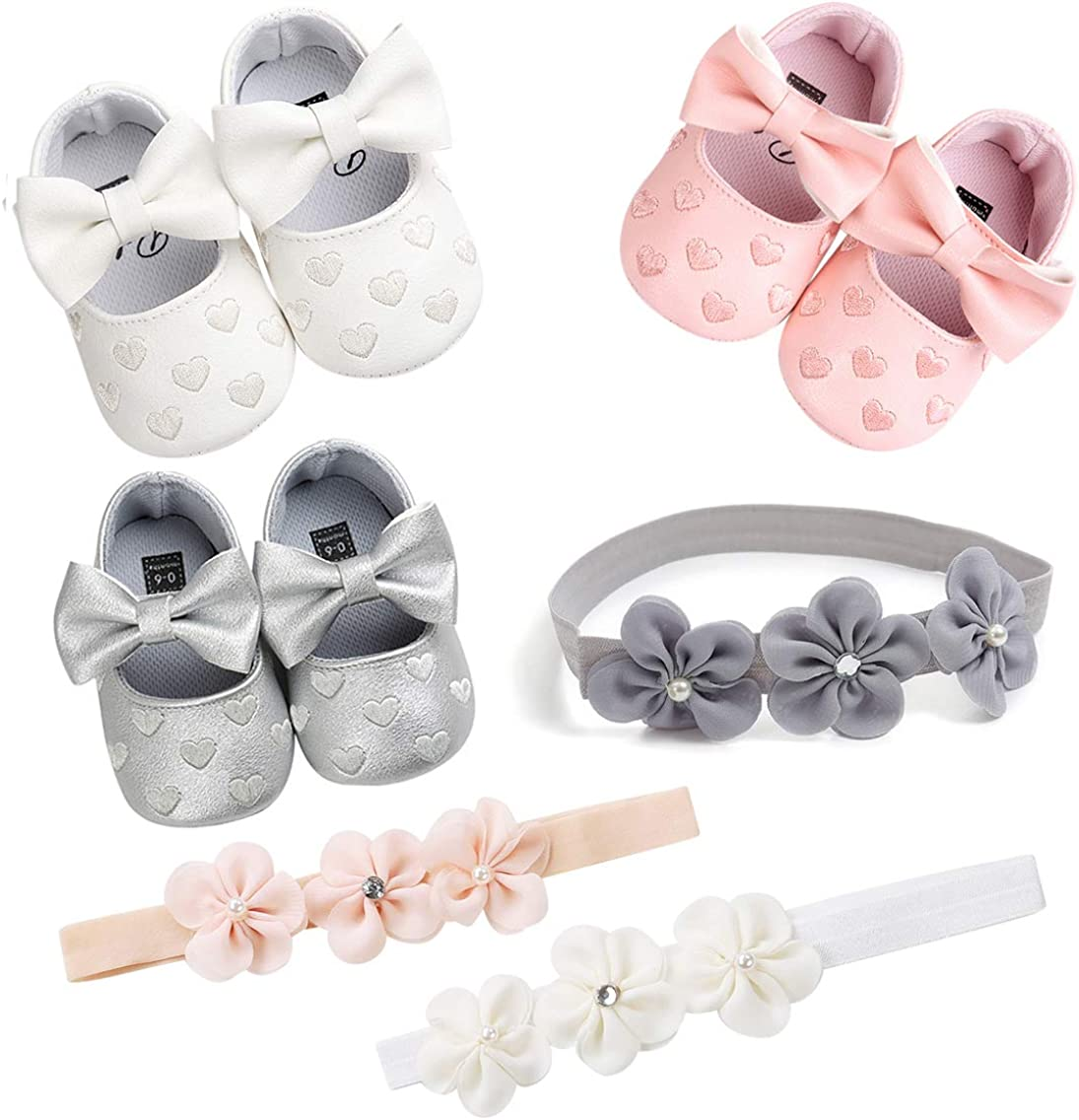Babies Infants and Toddlers Tuoting Infant Baby Girl Shoes,Baby Mary Jane Flats Princess Dress Shoes,Crib Shoe for Newborns