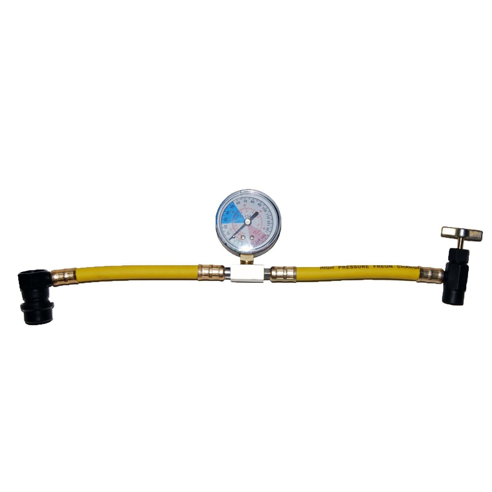 ZeroR R134 Plastic Can Tap and Gauge