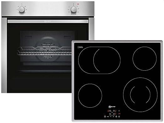 Neff XB16 sets de electrodoméstico de cocina Cerámico Horno ...