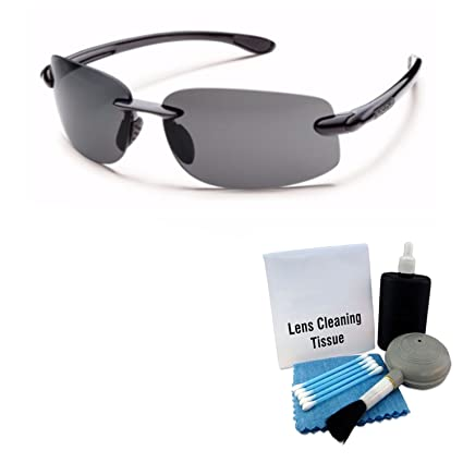 e40d413604 Image Unavailable. Image not available for. Color  Suncloud Excursion  Polarized Sunglass  Black Frame Gray ...