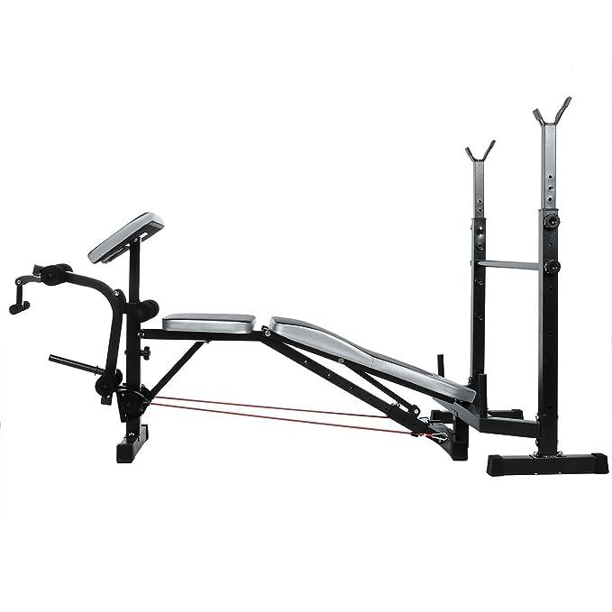 begorey Profesional Fitness Banco Conjunto Brazos Altura Ajustable: Amazon.es: Deportes y aire libre