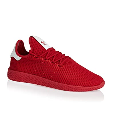 ADIDAS Pharrell Williams Tennis Hu Mens Sneakers Red