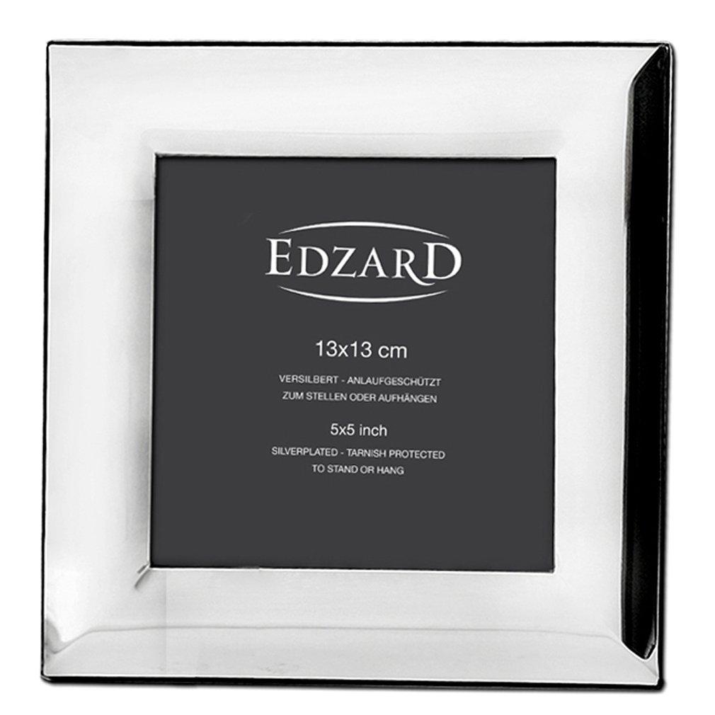 Amazon.de: EDZARD Fotorahmen Gela, edel versilbert, anlaufgeschützt ...