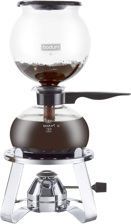 Bodum PEBO Vacuum Coffee Maker 8 Cup Red 1208-294-70