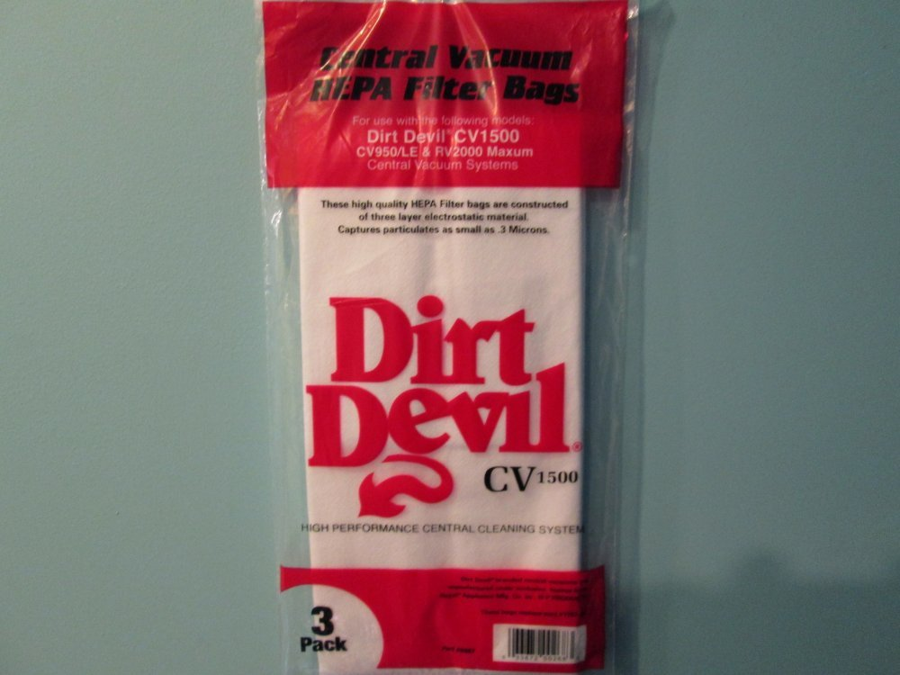 Dirt Devil Central Vacuum Bags 7767-W - Genuine -