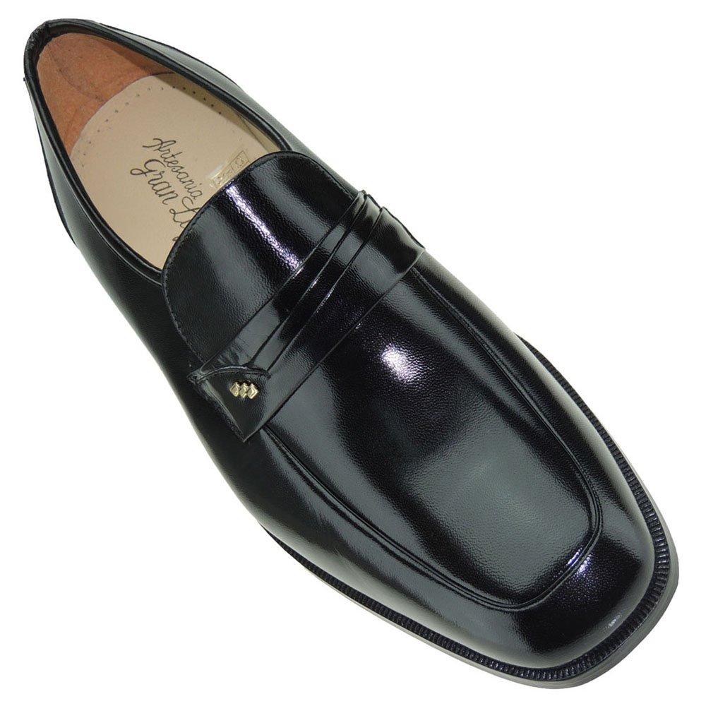 Seva 1020 Zapato Mocasín Ancho Especial Hombre Vestir y Ceremonia Ancho 10 Piso Cuero Suela: Amazon.es: Zapatos y complementos