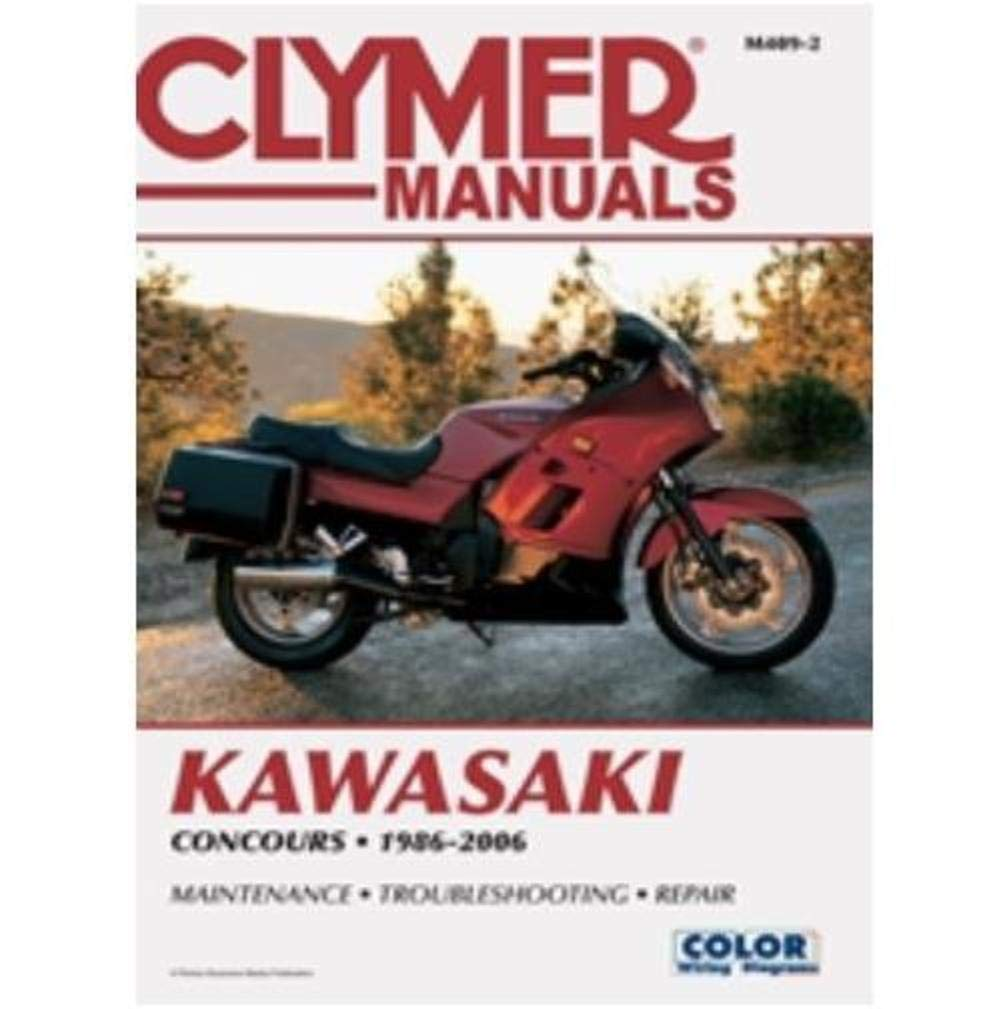 Amazon.com: Clymer Kawasaki Fours Motorcycle Repair Manual M409: Automotive